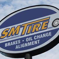 SM Tire logo