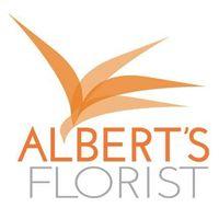 Albert's Florist logo