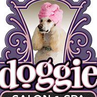 Doggie Salon & Spa logo
