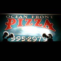 Ocean Front Pizza logo
