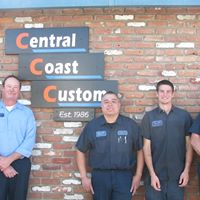 Central Coast Custom logo