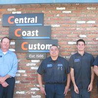 Central Coast Custom logo