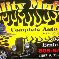 Quality Muffler & Complete Auto Repair logo