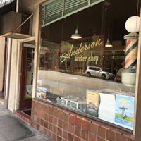 Anderson Barber Shop logo