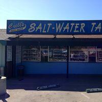 Crills Salt Water Taffy logo