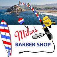 Mike's Barber Shop logo