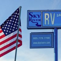 Sky River RV logo