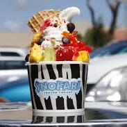 Snofari Frozen Yogurt logo