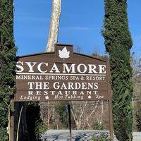Sycamore Mineral Springs Resort logo