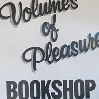 Volumes Of Pleasure Bookshoppe logo