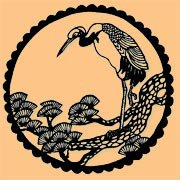 White Heron Sangha logo