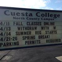 Cuesta College logo