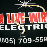 A Live Wire Electric logo