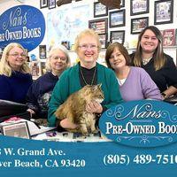 Nan's Pre-Owned Books logo