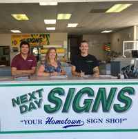 Next Day Signs logo