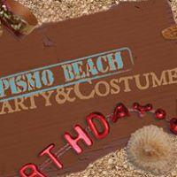 Pismo Beach Party & Costume logo