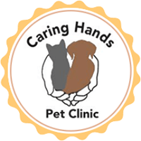 Caring Hands Pet Clinic logo