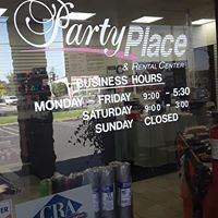 Party Place & Rental Center logo
