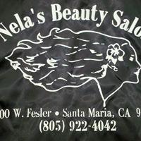 Nela's Beauty Salon logo