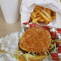 Charlie's Burgers Plus logo