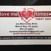 Love Me 2 Times Thrift Store logo