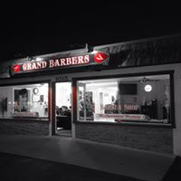 Grand Barbers logo