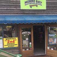 Morro Bay Skateboard Museum logo