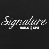 Signature Nails And Spa logo