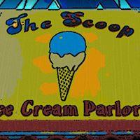 The Scoop Ice Cream Parlor logo