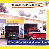 Main Street Shell Service logo