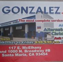 Gonzalez Tires logo