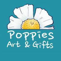 Poppies Art And Gifts logo