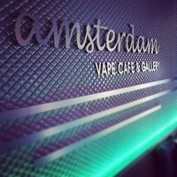Amsterdam Vape Cafe And Gallery logo