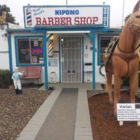 Nipomo Barber Shop logo