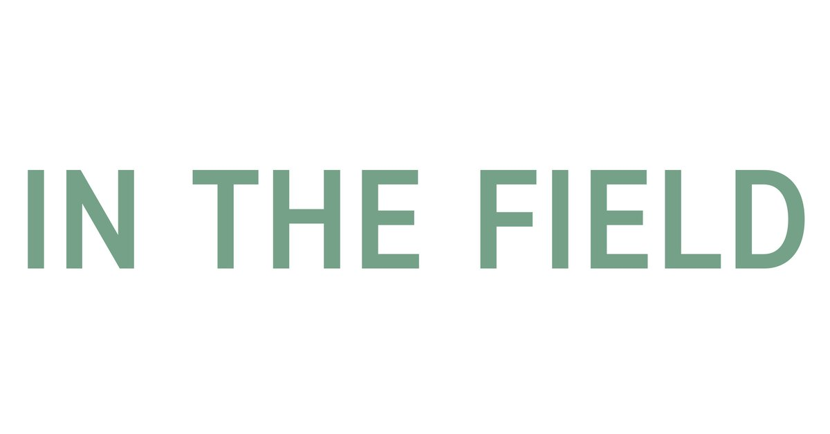 In The Field logo