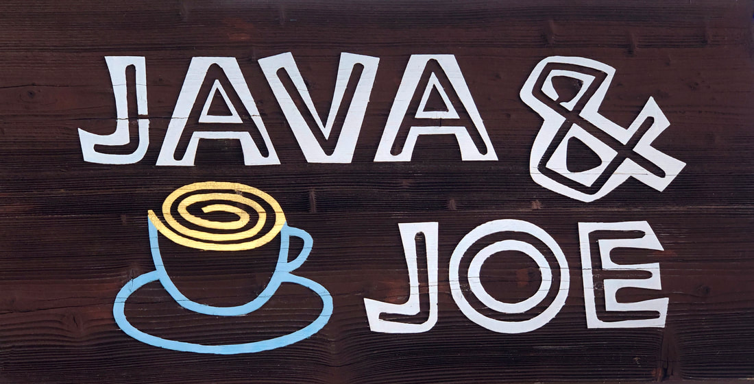 Java & Joe Specialty Coffee Tea & Gifts logo