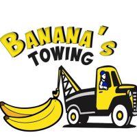 Banana's Towing logo
