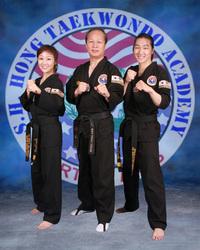 S H Hong Taekwondo Academy logo