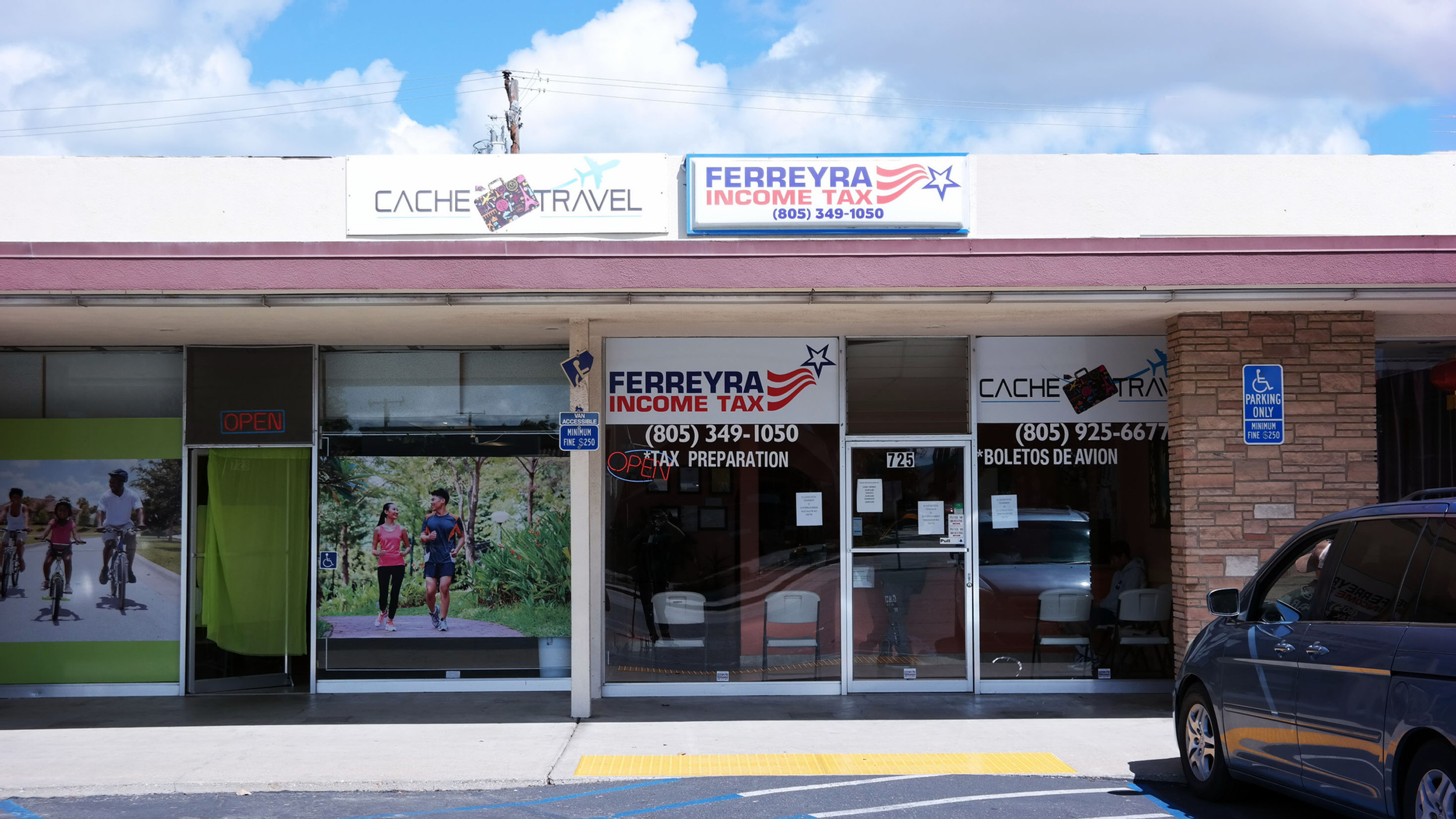 Ferreyra Income Tax & Cache Travel logo