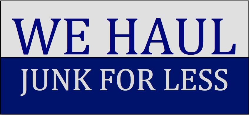 We Haul Junk For Less logo