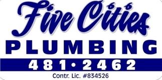 Five Cities Plumbing logo