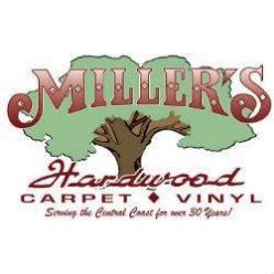 Miller's Hardwood Carpet & Vinyl Flooring logo