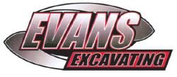 Evans Excavating logo