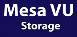 Mesa/VU Mini Storage logo