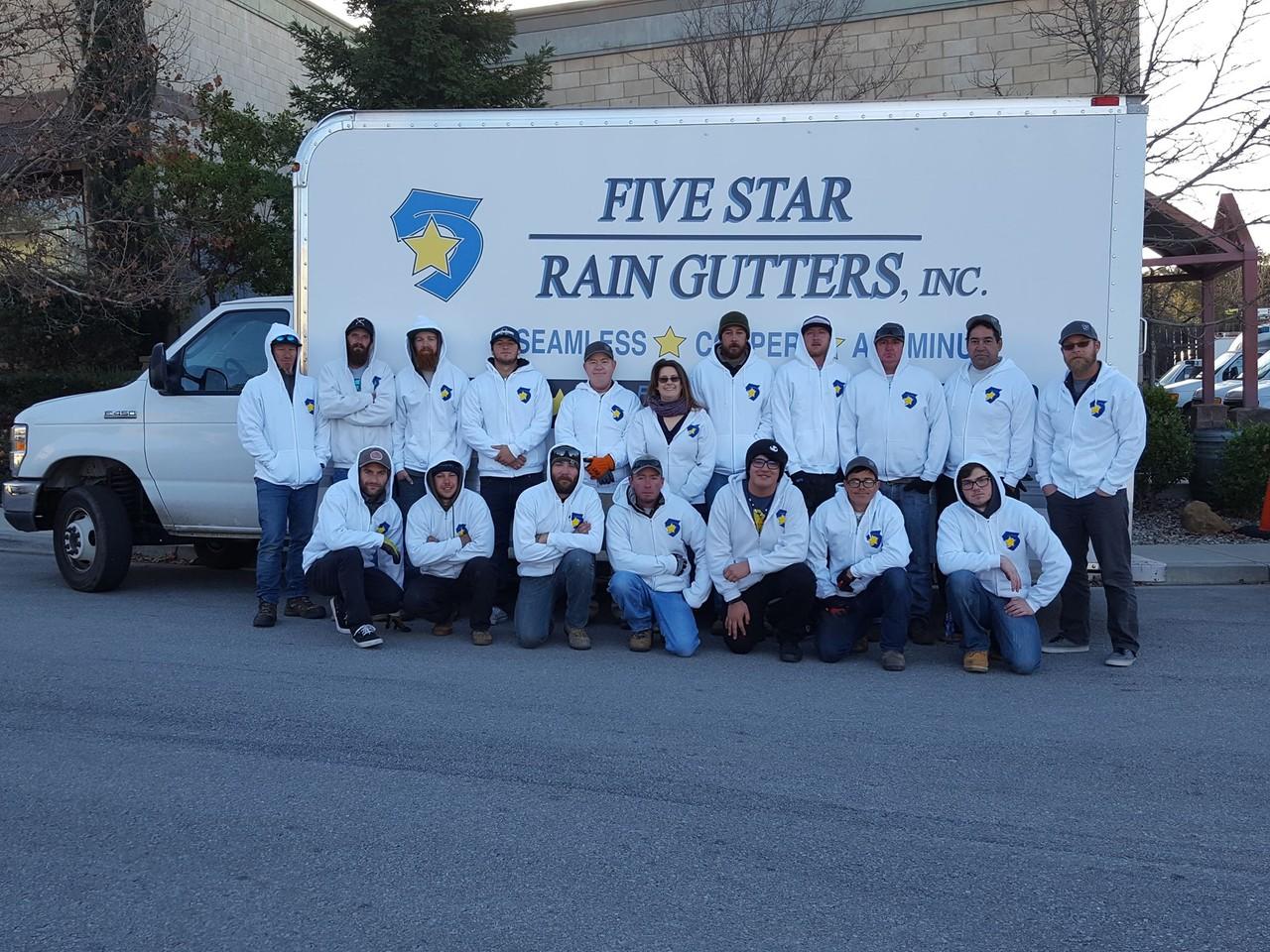 Photo uploaded by Five Star Rain Gutters Inc