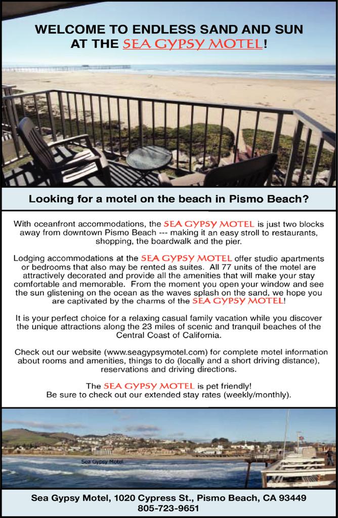 Print Ad of Sea Gypsy Motel