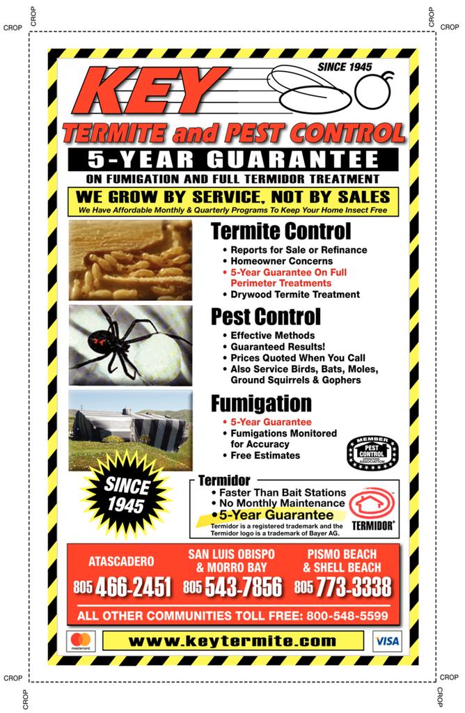 Print Ad of Key Termite & Pest Control Inc